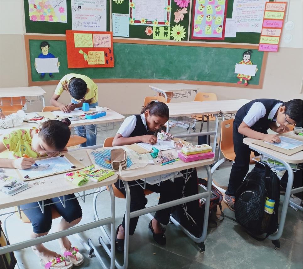 Art Classes at SNV School