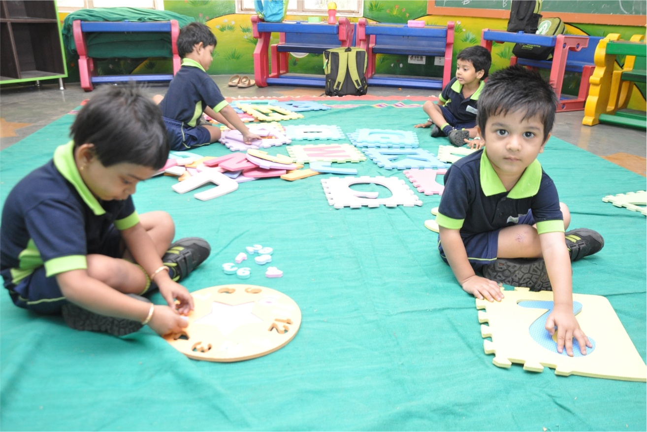 Pre Primary Level - CBSE School
